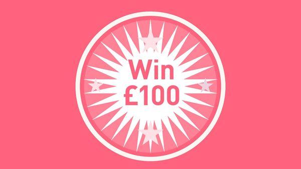 Win £100
