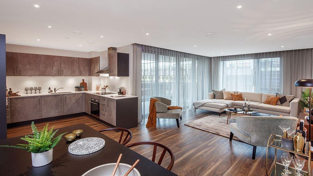 windsor apartments, bathroom, battersea